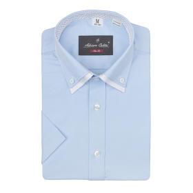 Koszula męska SLIM FIT P35N niebieska
