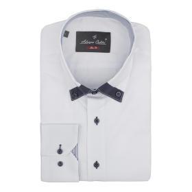 Koszula męska 04/01 SLIM FIT biała