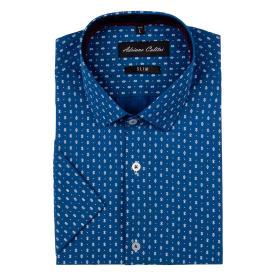 Koszula męska 20619102W krótki rękaw slim
