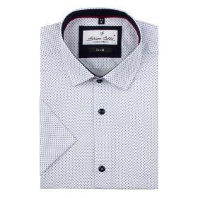 Koszula męska 20619203W krótki rękaw slim